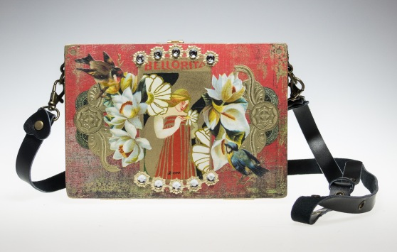 Bellorita - Cigar box purse by ChickieLou